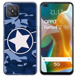 Funda Gel Tpu para Oppo Reno 4Z 5G diseño Camuflaje 03 Dibujos