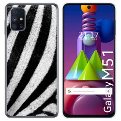 Funda Gel Tpu para Samsung Galaxy M51 diseño Animal 02 Dibujos