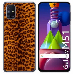 Funda Gel Tpu para Samsung Galaxy M51 diseño Animal 03 Dibujos