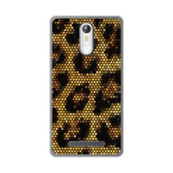 Funda Gel Tpu para Leagoo M8 / M8 Pro Diseño Leopardo Dibujos