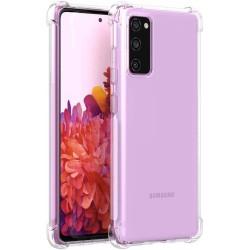 Funda Gel Tpu Anti-Shock Transparente para Samsung Galaxy S20 FE