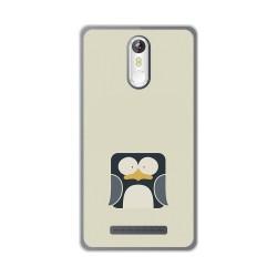 Funda Gel Tpu para Leagoo M8 / M8 Pro Diseño Pingüino Dibujos