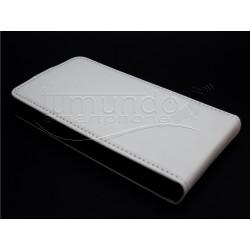 Funda Piel Premium Ultra-Slim Lg Optimus L7 II P710 Blanca