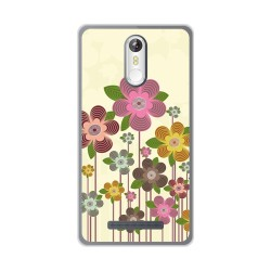 Funda Gel Tpu para Leagoo M8 / M8 Pro Diseño Primavera En Flor Dibujos