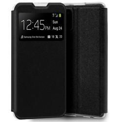 Funda Libro Soporte con Ventana para Samsung Galaxy M51 color Negra