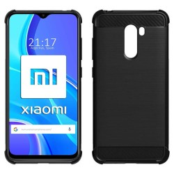 Funda Gel Tpu Anti-Shock Carbón para Xiaomi Redmi 9