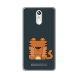 Funda Gel Tpu para Leagoo M8 / M8 Pro Diseño Tigre Dibujos