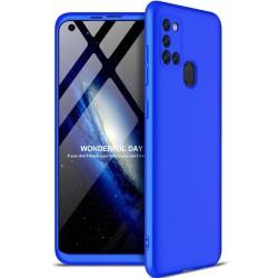Funda Carcasa GKK 360 para Samsung Galaxy A21S  color Azul