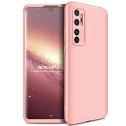 Funda Carcasa GKK 360 para Xiaomi Mi Note 10 Lite  color Rosa
