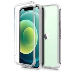 Funda Completa Transparente Pc + Tpu Full Body 360 para Iphone 12 Mini (5.4)
