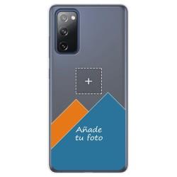 Personaliza tu Funda Pc + Tpu 360 con tu Fotografia para Samsung Galaxy S20 FE dibujo personalizada