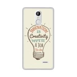 Funda Gel Tpu para Leagoo M5 Diseño Creativity Dibujos