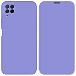 Funda Silicona Líquida con Tapa para Huawei P40 Lite color Morado Pastel