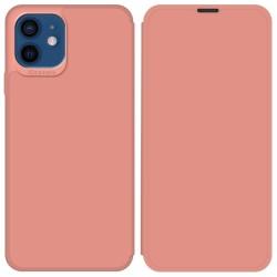 Funda Silicona Líquida con Tapa para Iphone 12 / 12 Pro (6.1) color Rosa Pastel