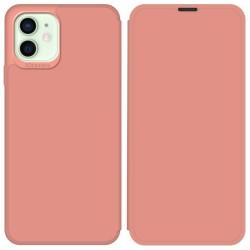 Funda Silicona Líquida con Tapa para Iphone 12 Mini (5.4) color Rosa Pastel