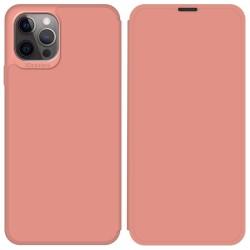 Funda Silicona Líquida con Tapa para Iphone 12 Pro Max (6.7) color Rosa Pastel