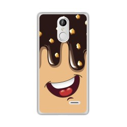Funda Gel Tpu para Leagoo M5 Diseño Helado Chocolate Dibujos