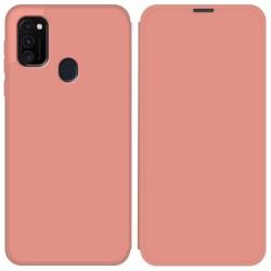 Funda Silicona Líquida con Tapa para Samsung Galaxy M30s / M21 color Rosa Pastel