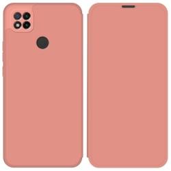 Funda Silicona Líquida con Tapa para Xiaomi Redmi 9C color Rosa Pastel