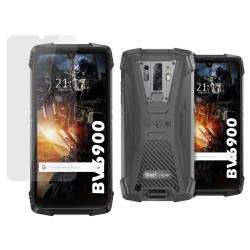 Pack 2 En 1 Funda Gel Transparente + Protector Cristal Templado para Blackview BV6900 / BV6900 Pro