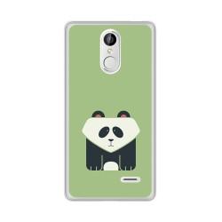 Funda Gel Tpu para Leagoo M5 Diseño Panda Dibujos