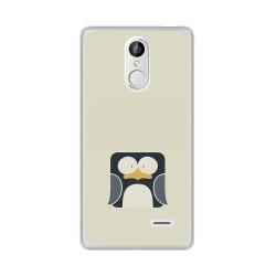 Funda Gel Tpu para Leagoo M5 Diseño Pingüino Dibujos