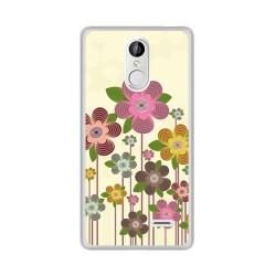 Funda Gel Tpu para Leagoo M5 Diseño Primavera En Flor Dibujos