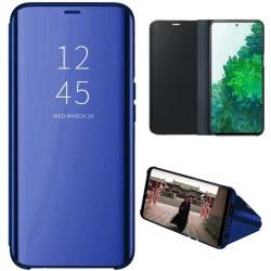 Funda Flip Cover Clear View para Samsung Galaxy S20 FE color Azul