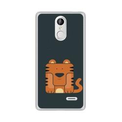 Funda Gel Tpu para Leagoo M5 Diseño Tigre Dibujos
