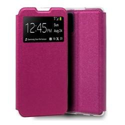Funda Libro Soporte con Ventana para Xiaomi Mi 10T / Mi 10T Pro color Rosa