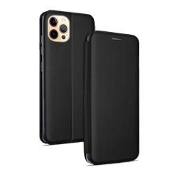 Funda Libro Soporte Magnética Elegance Negra para Iphone 12 Pro Max (6.7)