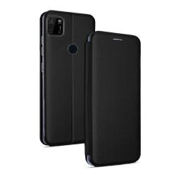 Funda Libro Soporte Magnética Elegance Negra para Xiaomi Redmi 9C