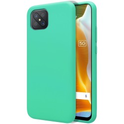 Funda Silicona Líquida Ultra Suave para Oppo Reno 4Z 5G color Verde