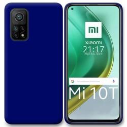 Funda Silicona Gel TPU Azul para Xiaomi Mi 10T / 10T Pro