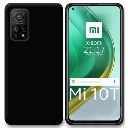 Funda Silicona Gel TPU Negra para Xiaomi Mi 10T / 10T Pro