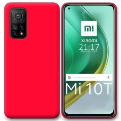 Funda Silicona Gel TPU Rosa para Xiaomi Mi 10T / 10T Pro