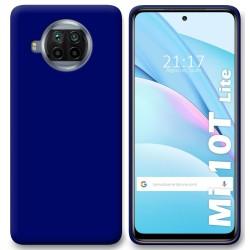 Funda Silicona Gel TPU Azul para Xiaomi Mi 10T Lite
