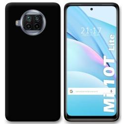 Funda Silicona Gel TPU Negra para Xiaomi Mi 10T Lite