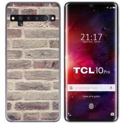Funda Gel Tpu para TCL 10 Pro diseño Ladrillo 01 Dibujos