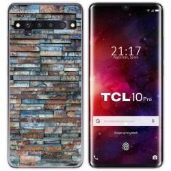 Funda Gel Tpu para TCL 10 Pro diseño Ladrillo 05 Dibujos