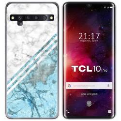 Funda Gel Tpu para TCL 10 Pro diseño Mármol 02 Dibujos