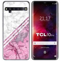 Funda Gel Tpu para TCL 10 Pro diseño Mármol 03 Dibujos