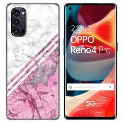 Funda Gel Tpu para Oppo Reno 4 Pro 5G diseño Mármol 03 Dibujos