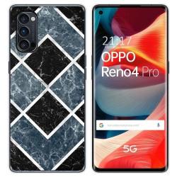 Funda Gel Tpu para Oppo Reno 4 Pro 5G diseño Mármol 06 Dibujos