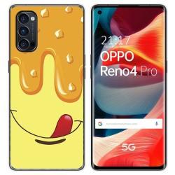 Funda Gel Tpu para Oppo Reno 4 Pro 5G diseño Helado Vainilla Dibujos
