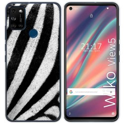 Funda Gel Tpu para Wiko View5 / View5 Plus diseño Animal 02 Dibujos