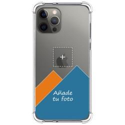 Personaliza tu Funda Silicona Anti-Golpes Transparente con tu Fotografía para Iphone 12 Pro Max (6.7) personalizada