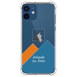 Personaliza tu Funda Silicona Anti-Golpes Transparente con tu Fotografía para Iphone 12 / 12 Pro (6.1) personalizada