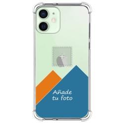Personaliza tu Funda Silicona Anti-Golpes Transparente con tu Fotografía para Iphone 12 Mini (5.4) personalizada