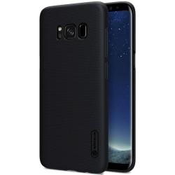 Carcasa Funda Negra Nillkin Modelo Frosted + Protector para Samsung Galaxy S8 Plus